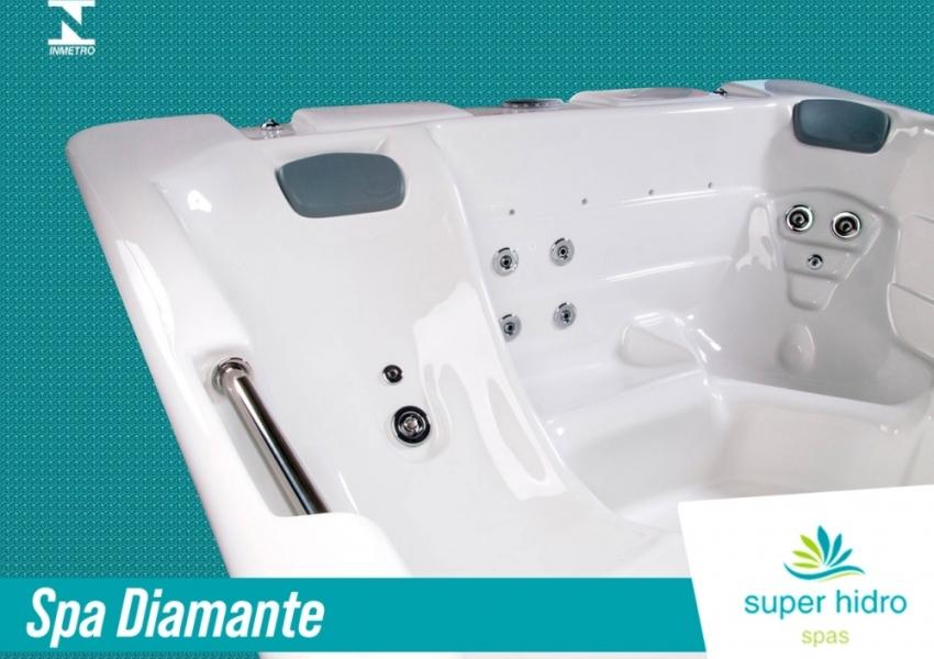 Detalhes do Spa Superhidro Diamante